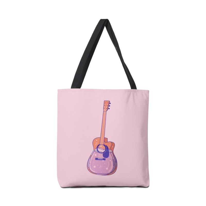 Guitar Accessories Tote Bag Bag by theladyernestember's Artist Shop
