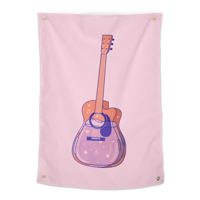 Guitar Home Tapestry by theladyernestember's Artist Shop
