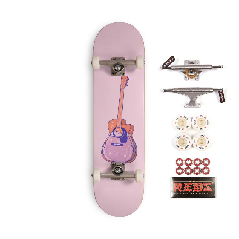 Guitar Accessories Complete - Pro Skateboard by theladyernestember's Artist Shop