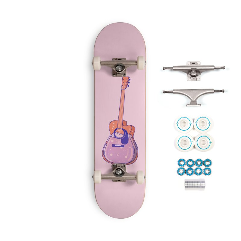 Guitar Accessories Complete - Basic Skateboard by theladyernestember's Artist Shop