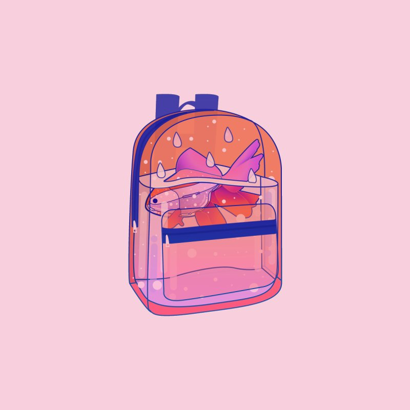 Bag Aquarium by theladyernestember's Artist Shop