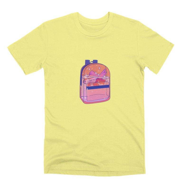 Bag Aquarium Men's Premium T-Shirt by theladyernestember's Artist Shop
