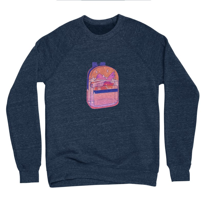 Bag Aquarium Men's Sponge Fleece Sweatshirt by theladyernestember's Artist Shop