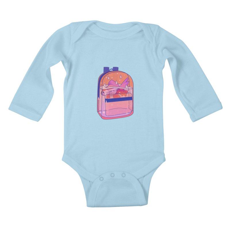 Bag Aquarium Kids Baby Longsleeve Bodysuit by theladyernestember's Artist Shop