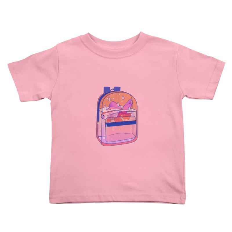 Bag Aquarium Kids Toddler T-Shirt by theladyernestember's Artist Shop