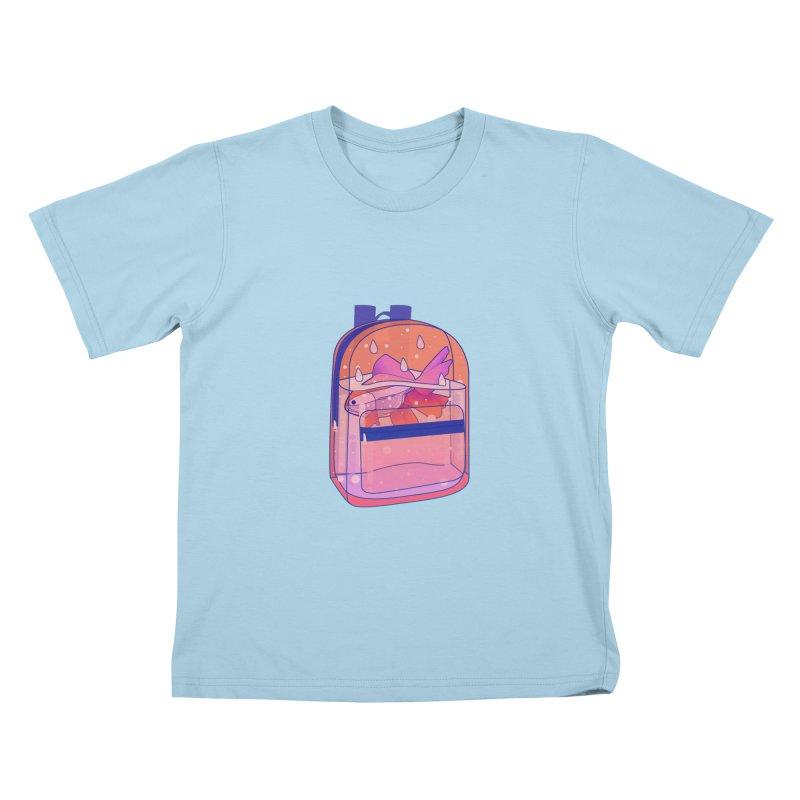 Bag Aquarium Kids T-Shirt by theladyernestember's Artist Shop
