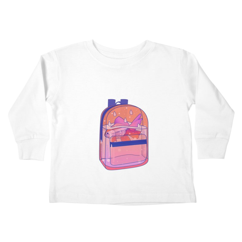 Bag Aquarium Kids Toddler Longsleeve T-Shirt by theladyernestember's Artist Shop