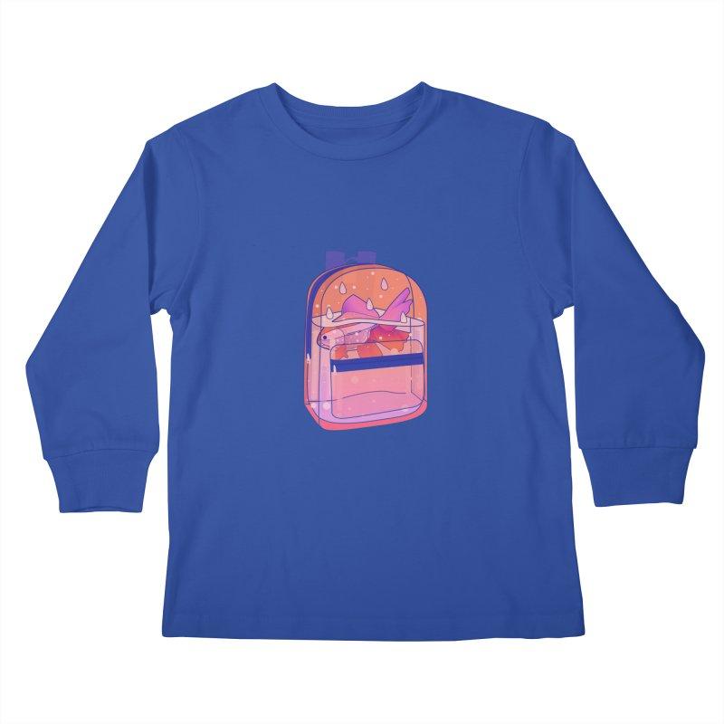 Bag Aquarium Kids Longsleeve T-Shirt by theladyernestember's Artist Shop