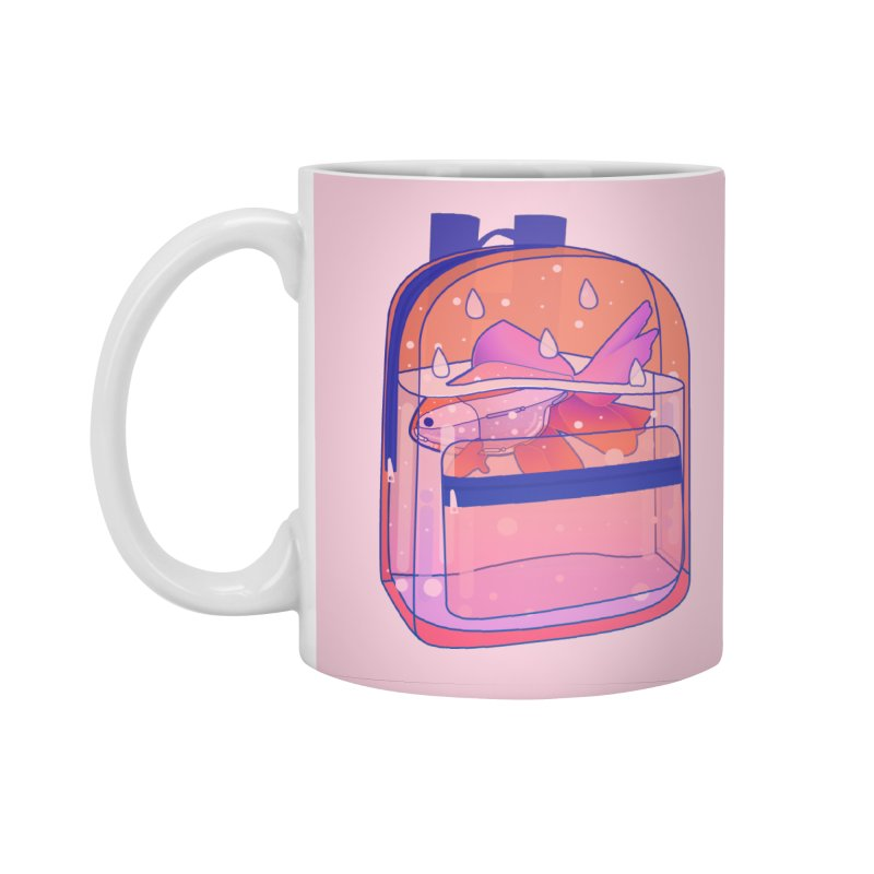 Bag Aquarium Accessories Standard Mug by theladyernestember's Artist Shop