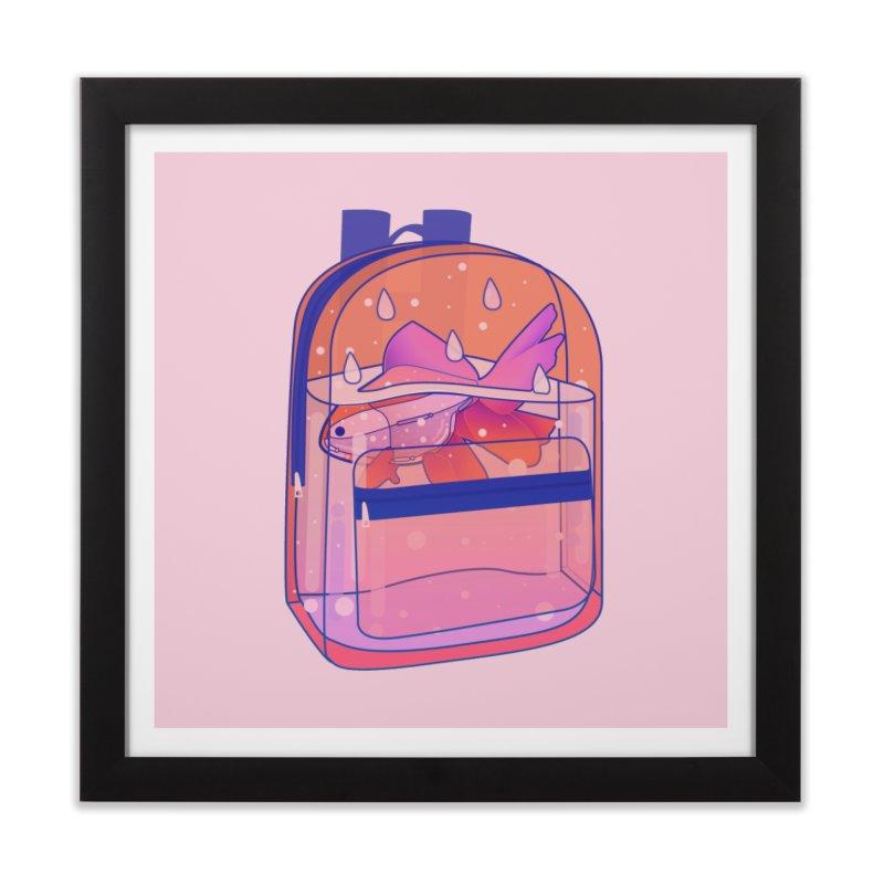 Bag Aquarium Home Framed Fine Art Print by theladyernestember's Artist Shop