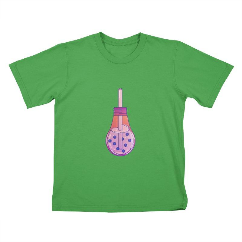 Bubbletea Kids T-Shirt by theladyernestember's Artist Shop