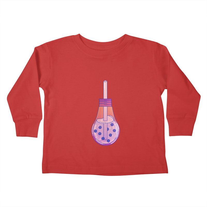 Bubbletea Kids Toddler Longsleeve T-Shirt by theladyernestember's Artist Shop