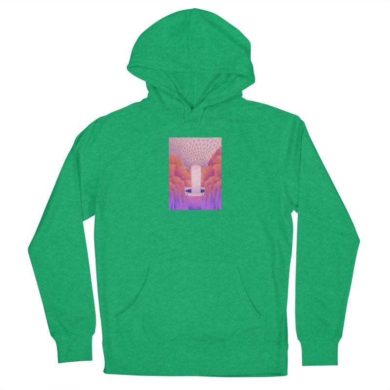 Waterfall Women's French Terry Pullover Hoody by theladyernestember's Artist Shop