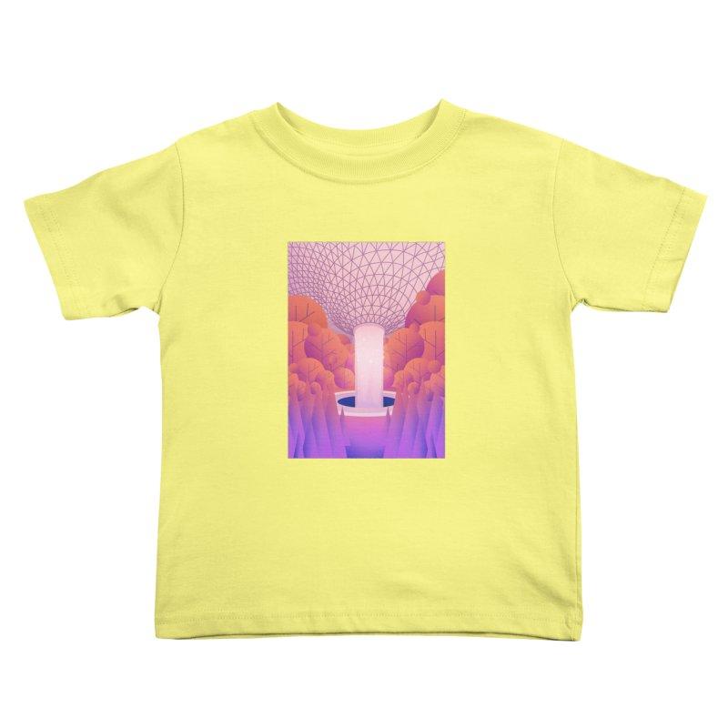Waterfall Kids Toddler T-Shirt by theladyernestember's Artist Shop
