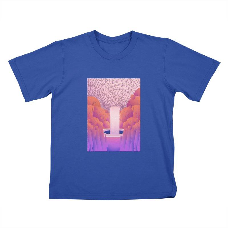 Waterfall Kids T-Shirt by theladyernestember's Artist Shop