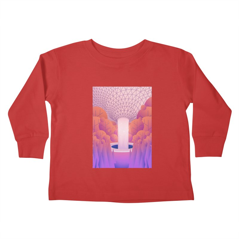 Waterfall Kids Toddler Longsleeve T-Shirt by theladyernestember's Artist Shop