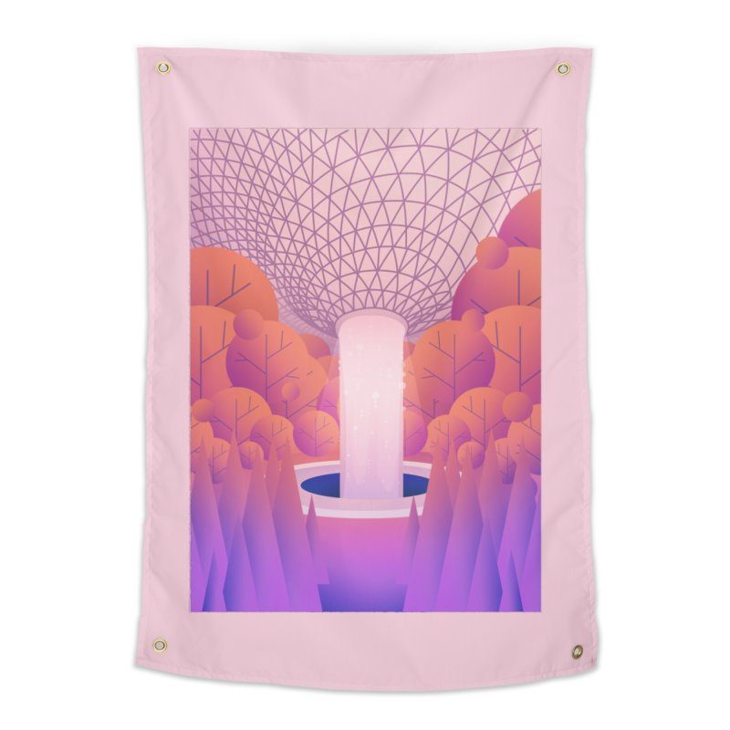 Waterfall Home Tapestry by theladyernestember's Artist Shop