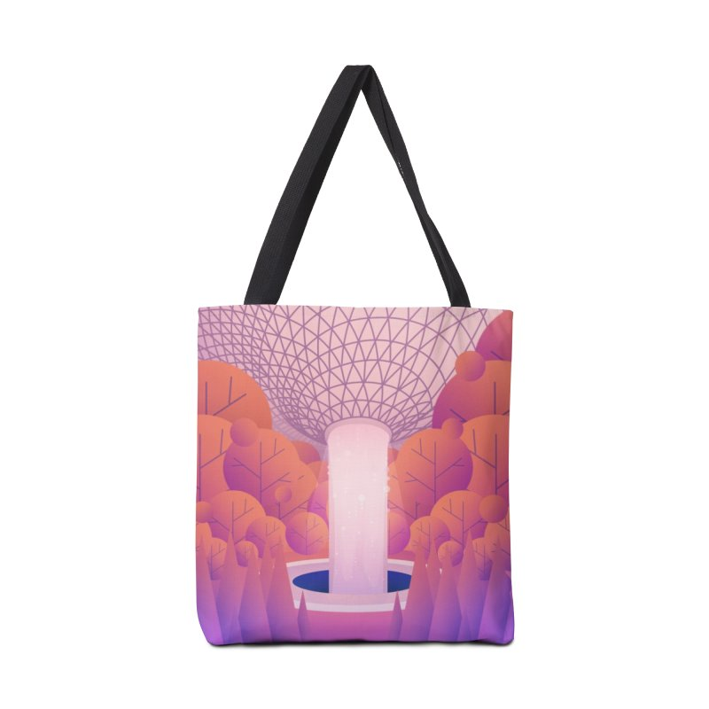 Waterfall Accessories Tote Bag Bag by theladyernestember's Artist Shop