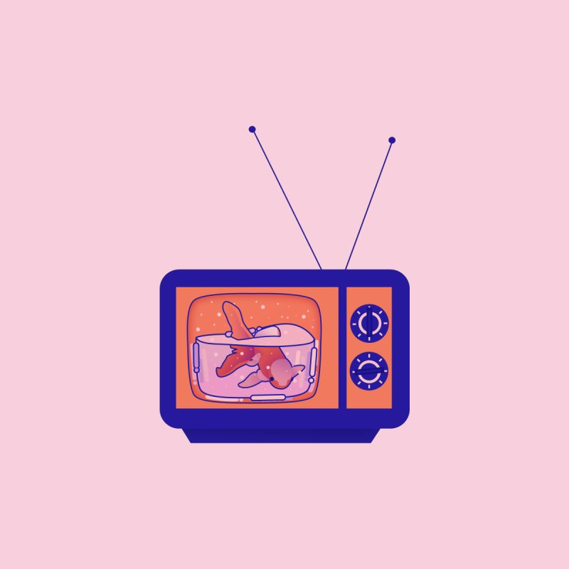 Television by theladyernestember's Artist Shop