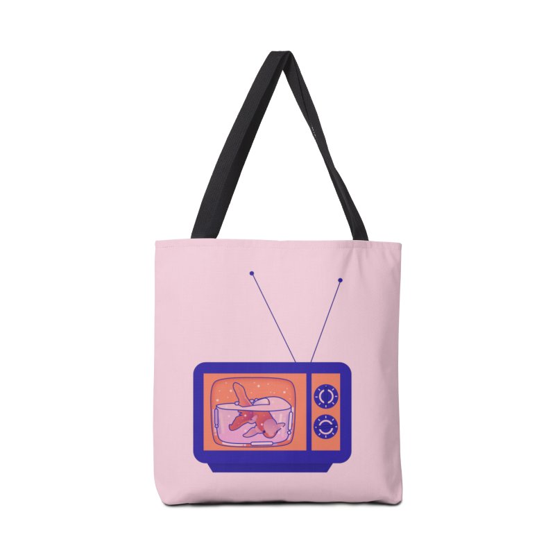 Television Accessories Tote Bag Bag by theladyernestember's Artist Shop