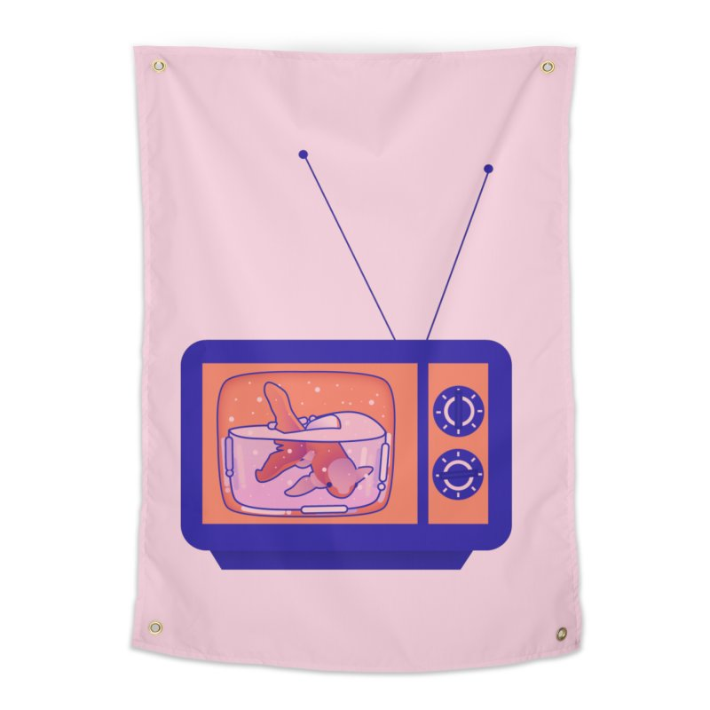 Television Home Tapestry by theladyernestember's Artist Shop