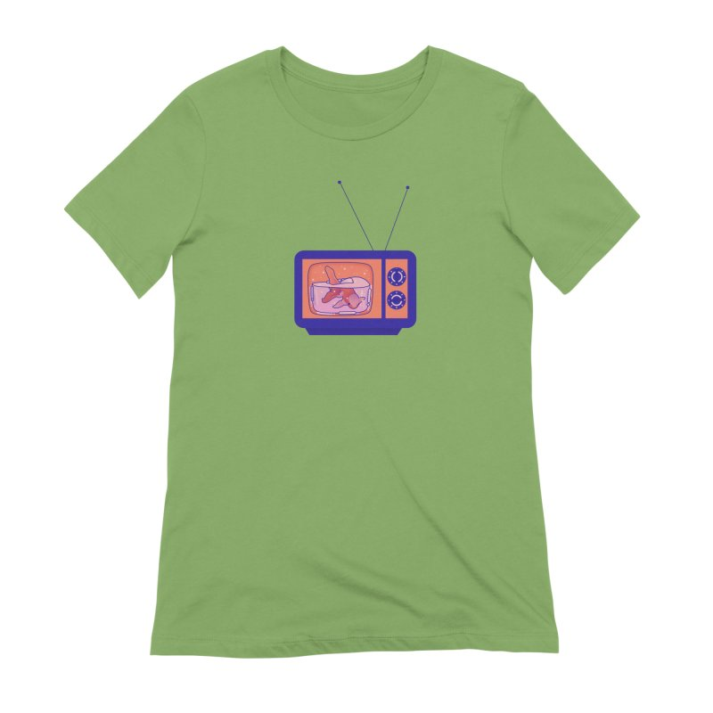 Television Women's Extra Soft T-Shirt by theladyernestember's Artist Shop