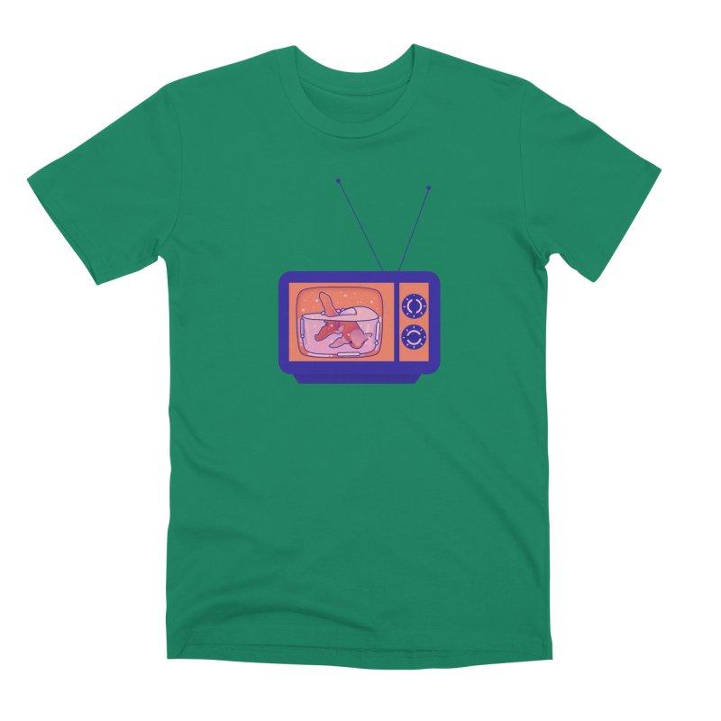 Television Men's Premium T-Shirt by theladyernestember's Artist Shop