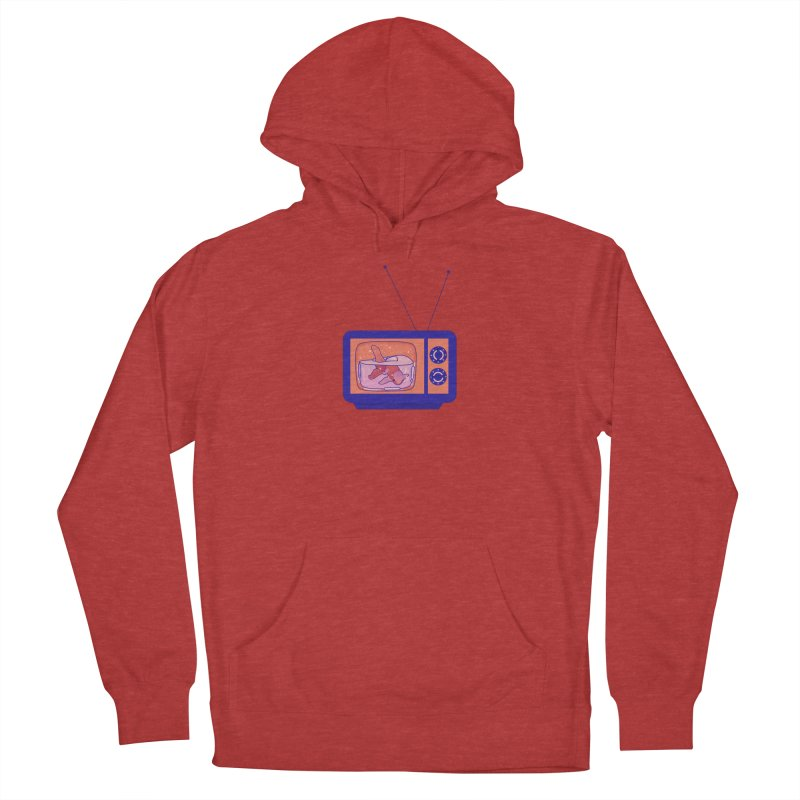 Television Women's French Terry Pullover Hoody by theladyernestember's Artist Shop