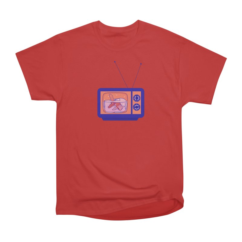Television Men's Heavyweight T-Shirt by theladyernestember's Artist Shop