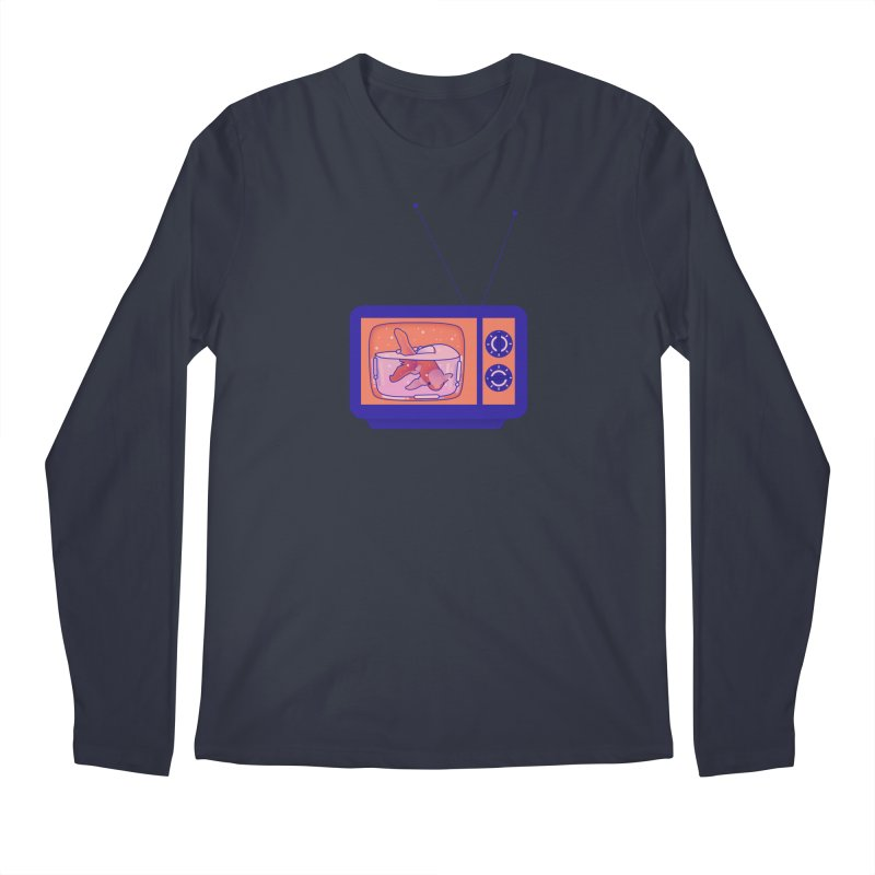 Television Men's Regular Longsleeve T-Shirt by theladyernestember's Artist Shop