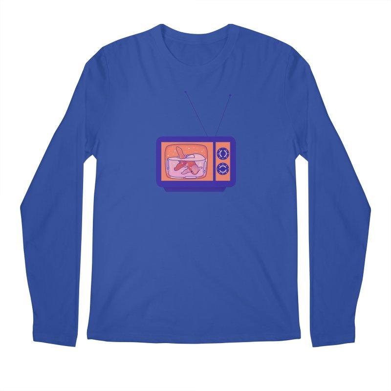 Television Men's Regular Longsleeve T-Shirt by theladyernestember's Artist Shop