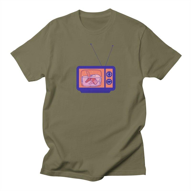 Television Women's Regular Unisex T-Shirt by theladyernestember's Artist Shop