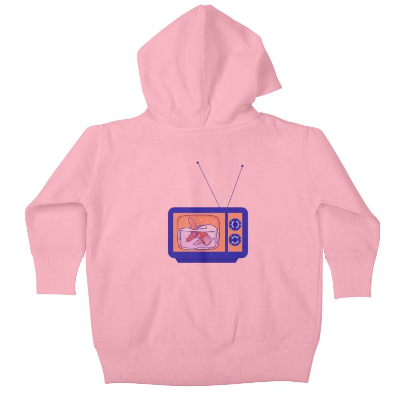 Television Kids Baby Zip-Up Hoody by theladyernestember's Artist Shop