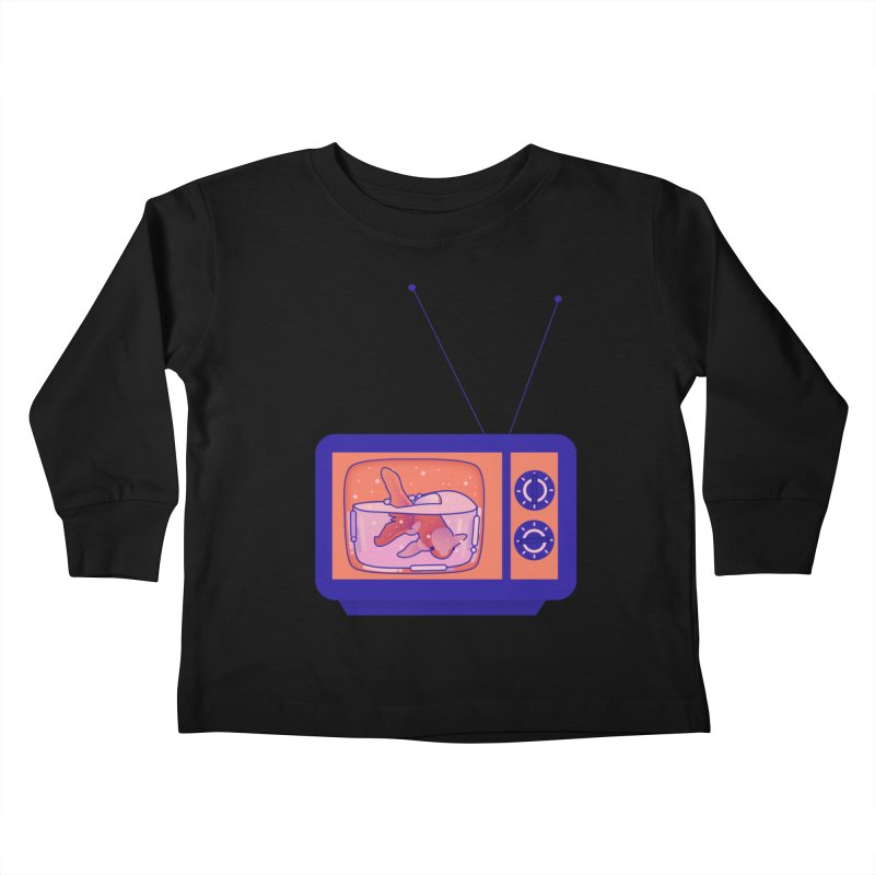 Television Kids Toddler Longsleeve T-Shirt by theladyernestember's Artist Shop