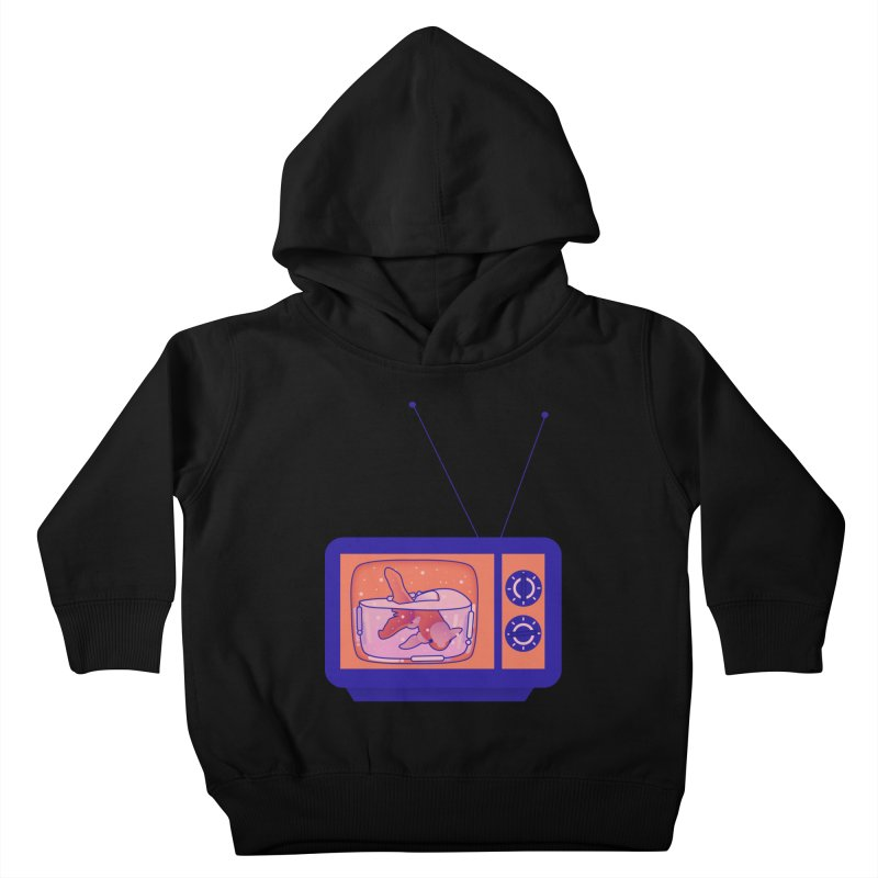 Television Kids Toddler Pullover Hoody by theladyernestember's Artist Shop