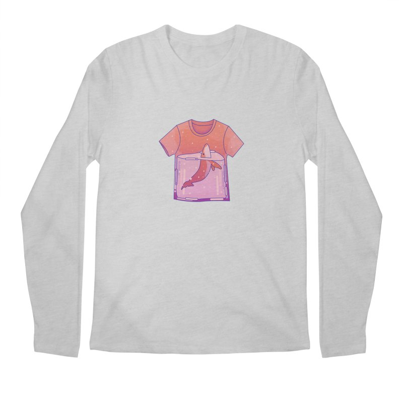 Whale Men's Regular Longsleeve T-Shirt by theladyernestember's Artist Shop