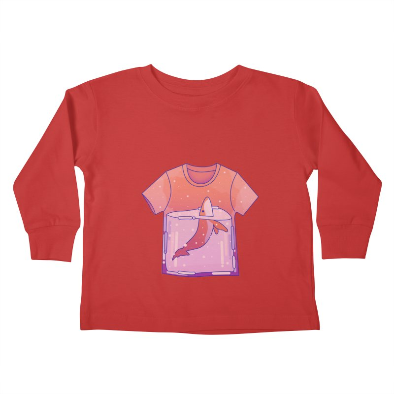 Whale Kids Toddler Longsleeve T-Shirt by theladyernestember's Artist Shop