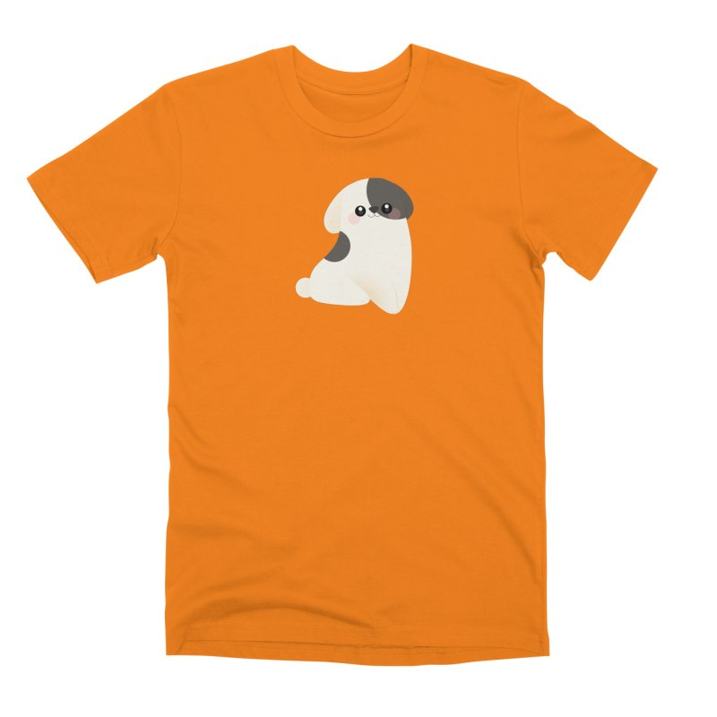 Puppy Men's T-Shirt by theladyernestember's Artist Shop