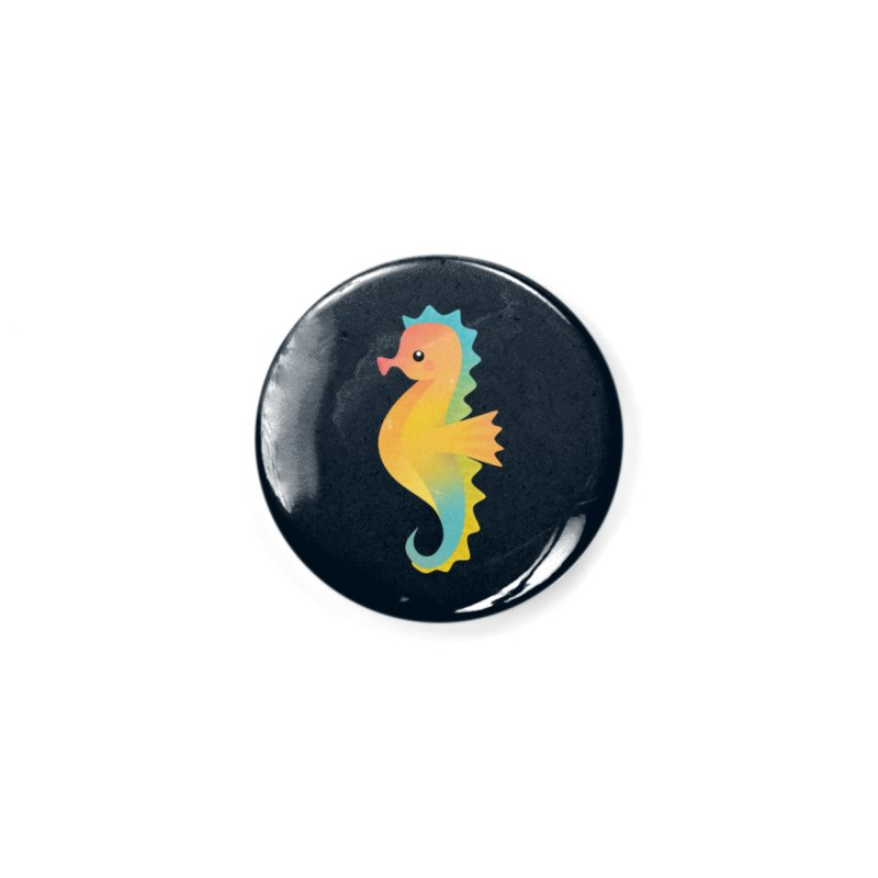 Seahorse Accessories Button by theladyernestember's Artist Shop