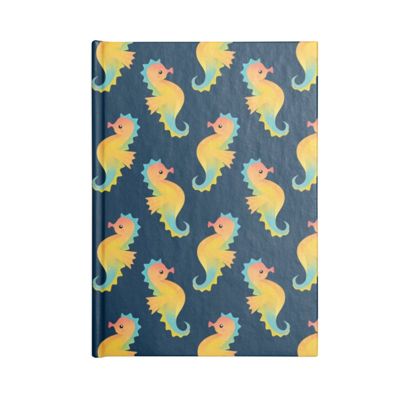 Seahorse Accessories Notebook by theladyernestember's Artist Shop
