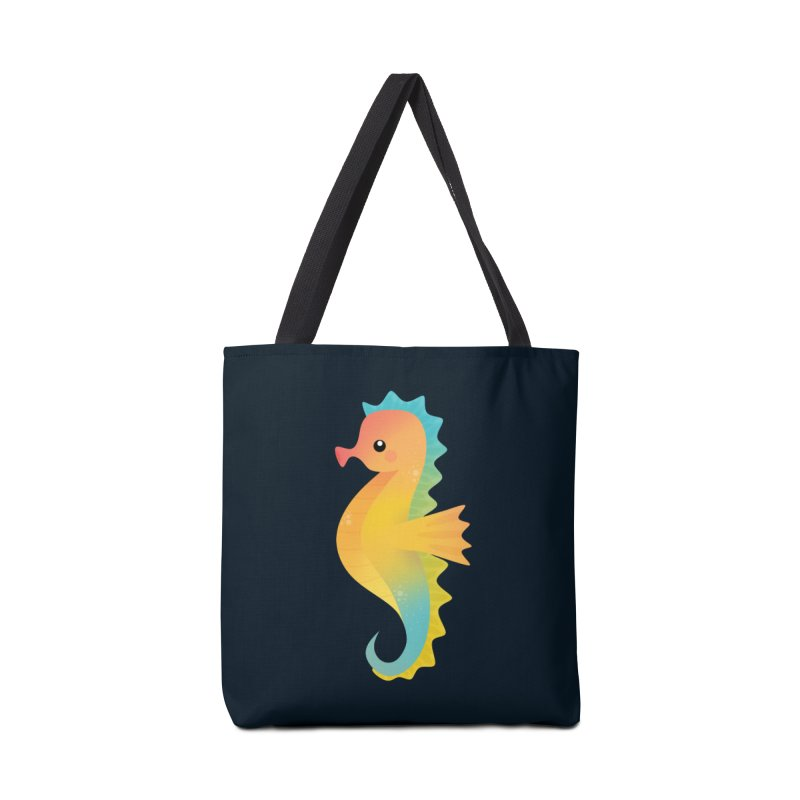 Seahorse Accessories Bag by theladyernestember's Artist Shop