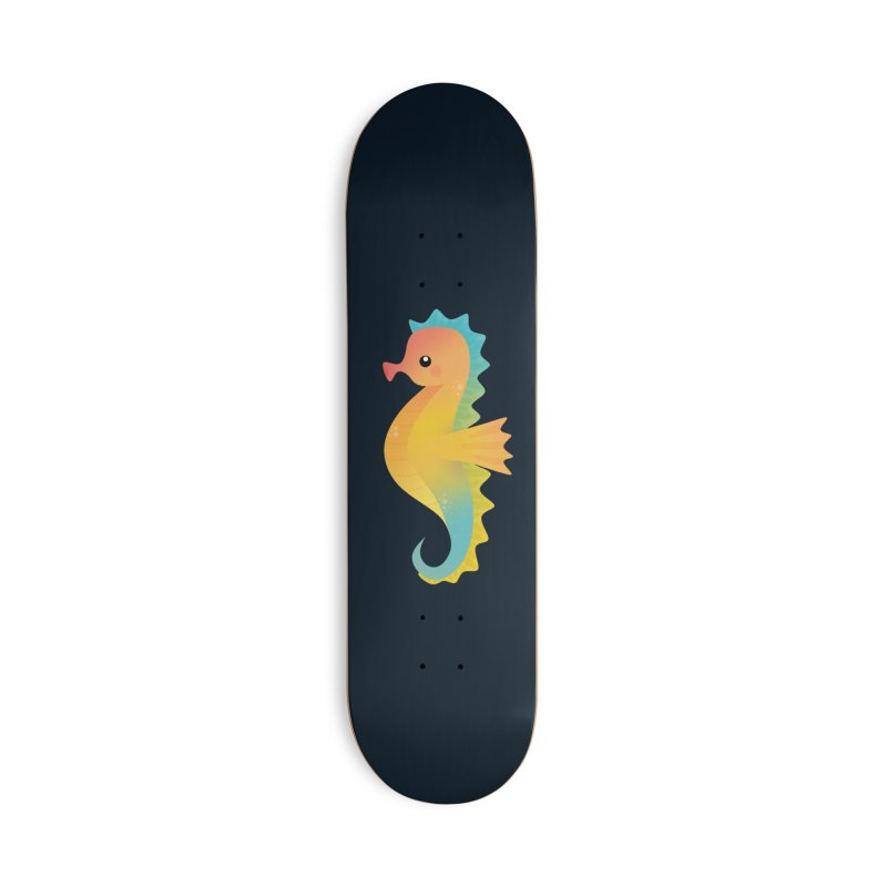 Seahorse Accessories Skateboard by theladyernestember's Artist Shop