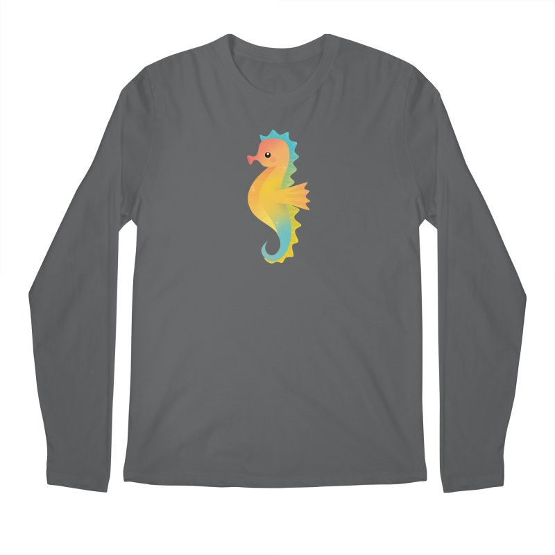 Seahorse Men's Longsleeve T-Shirt by theladyernestember's Artist Shop