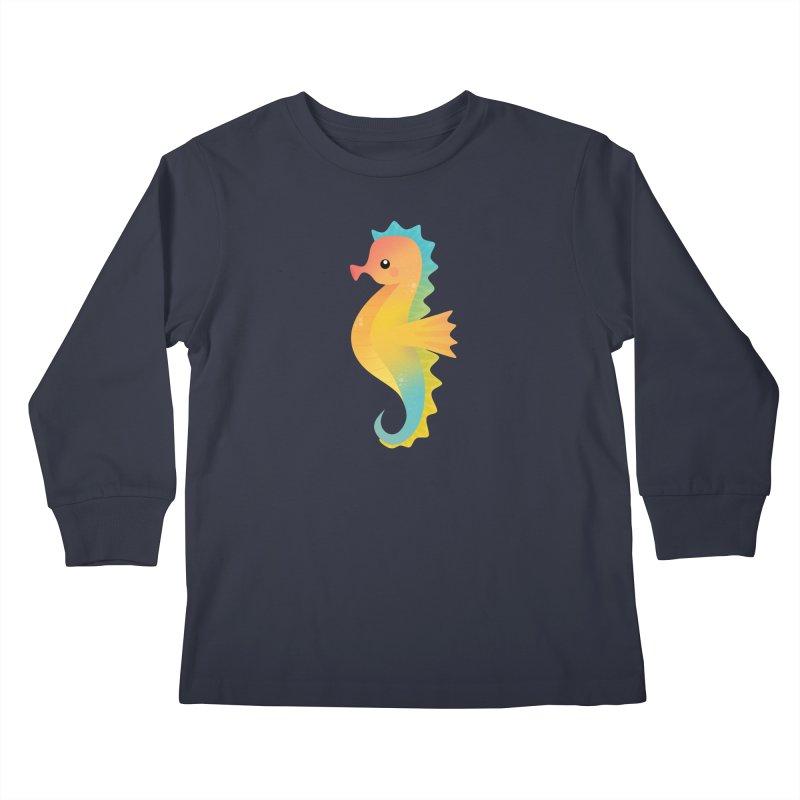 Seahorse Kids Longsleeve T-Shirt by theladyernestember's Artist Shop