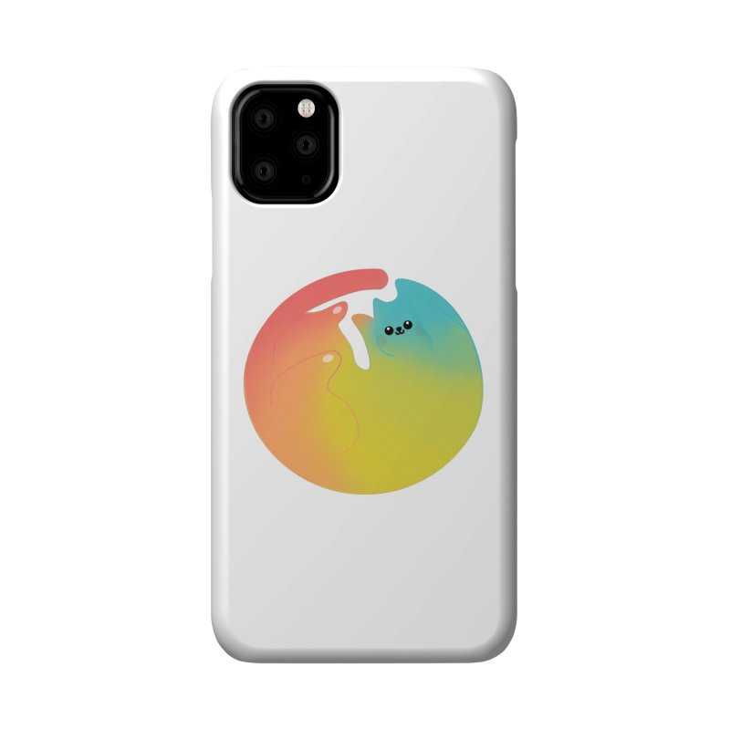Rainbow Cat Accessories Phone Case by theladyernestember's Artist Shop