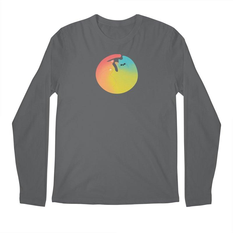 Rainbow Cat Men's Longsleeve T-Shirt by theladyernestember's Artist Shop