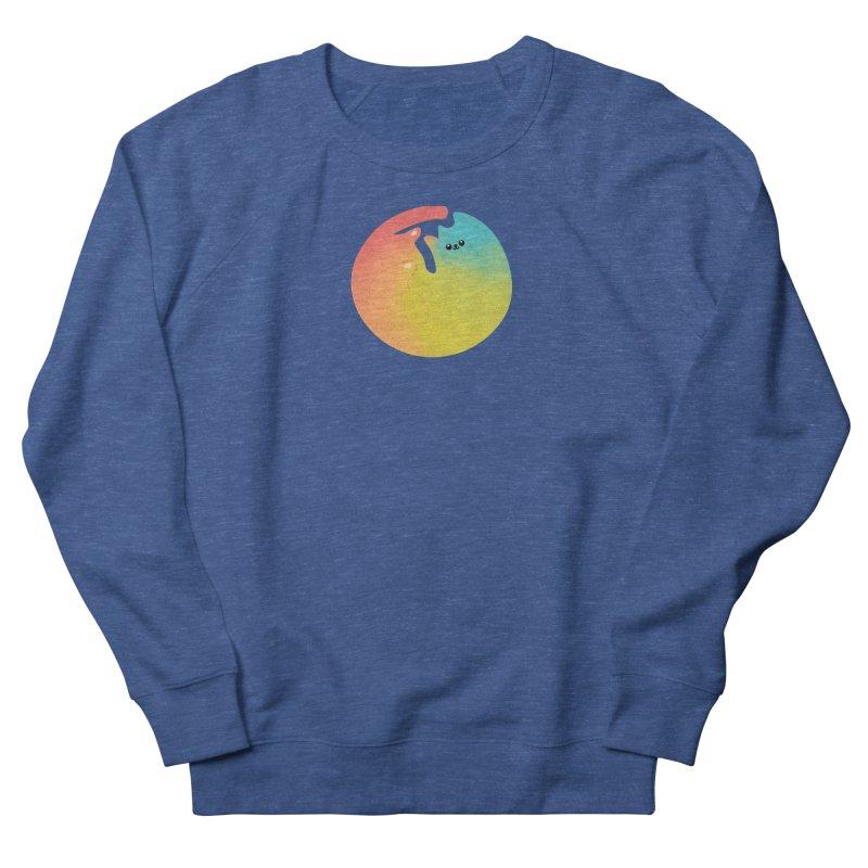 Rainbow Cat Men's Sweatshirt by theladyernestember's Artist Shop