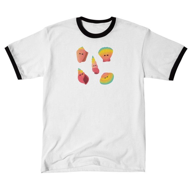 Seashell Men's T-Shirt by theladyernestember's Artist Shop