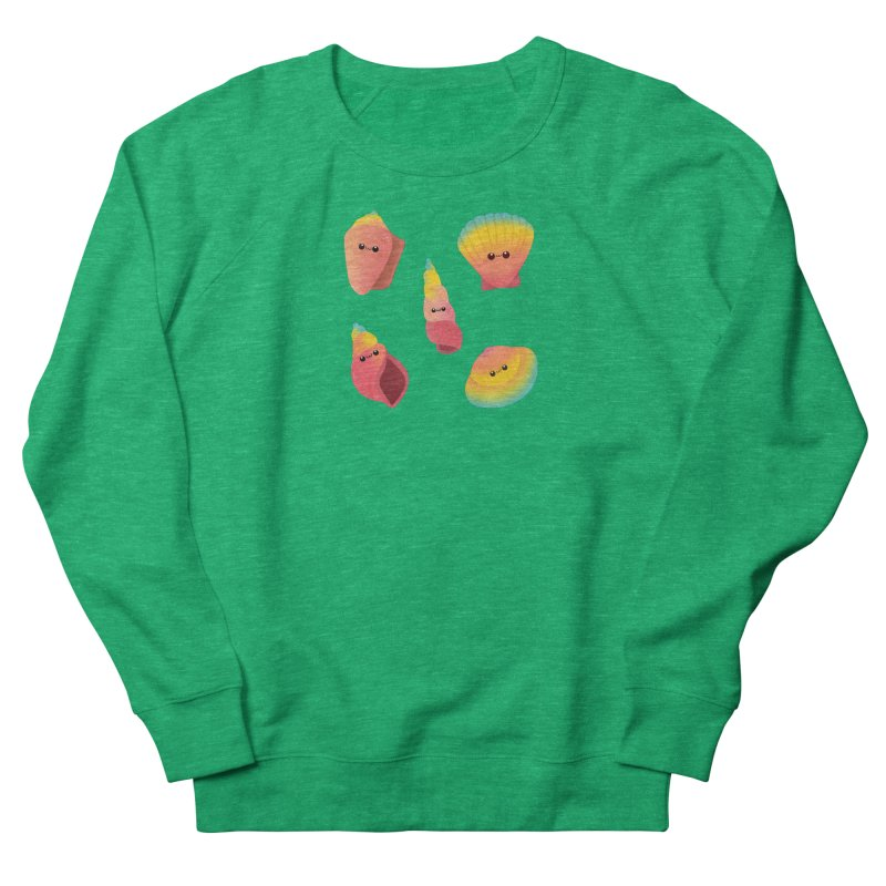 Seashell Women's Sweatshirt by theladyernestember's Artist Shop