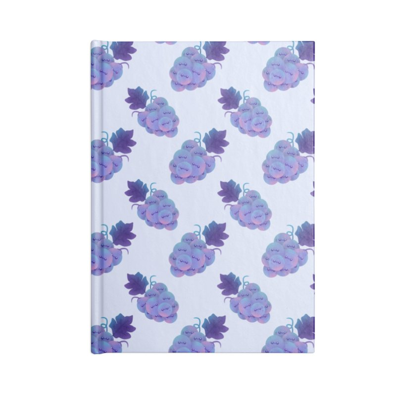 Grapes Accessories Notebook by theladyernestember's Artist Shop